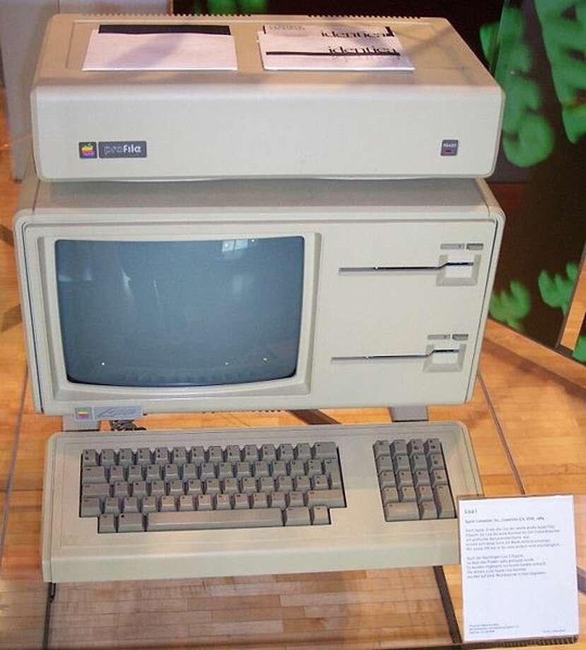 Lisa (1983): The Lisa was the first commercial computer with a graphical interface, mouse, and cursor. However, its steep $9995 price tag kept it from being as successful as Apple had hoped. Photo: Photo Via Wikipedia Creative Commons