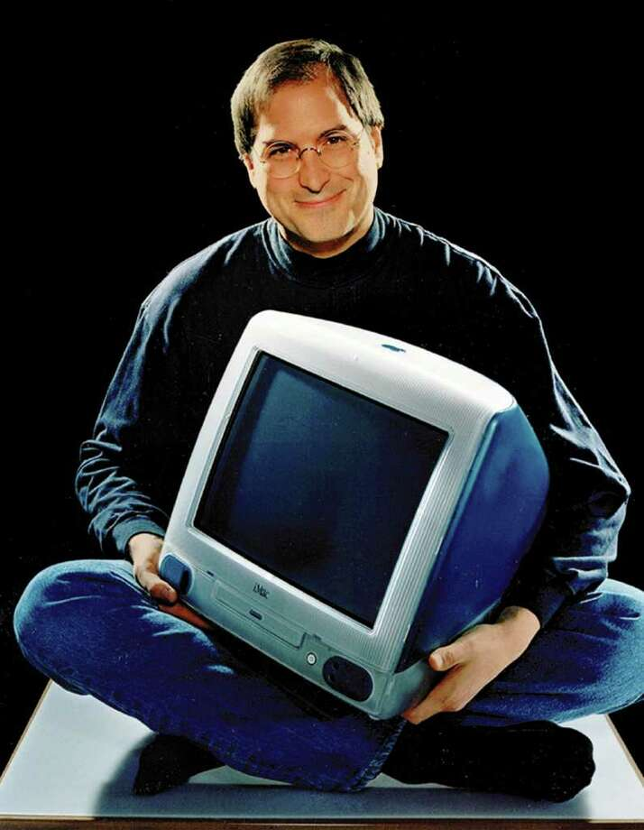 "iMac (1998): The radical overhaul of the Macintosh was intended to regain market share for Apple. The ""blue bubble"" was a commercial success, catching the eye of consumers.  Photo: AP"