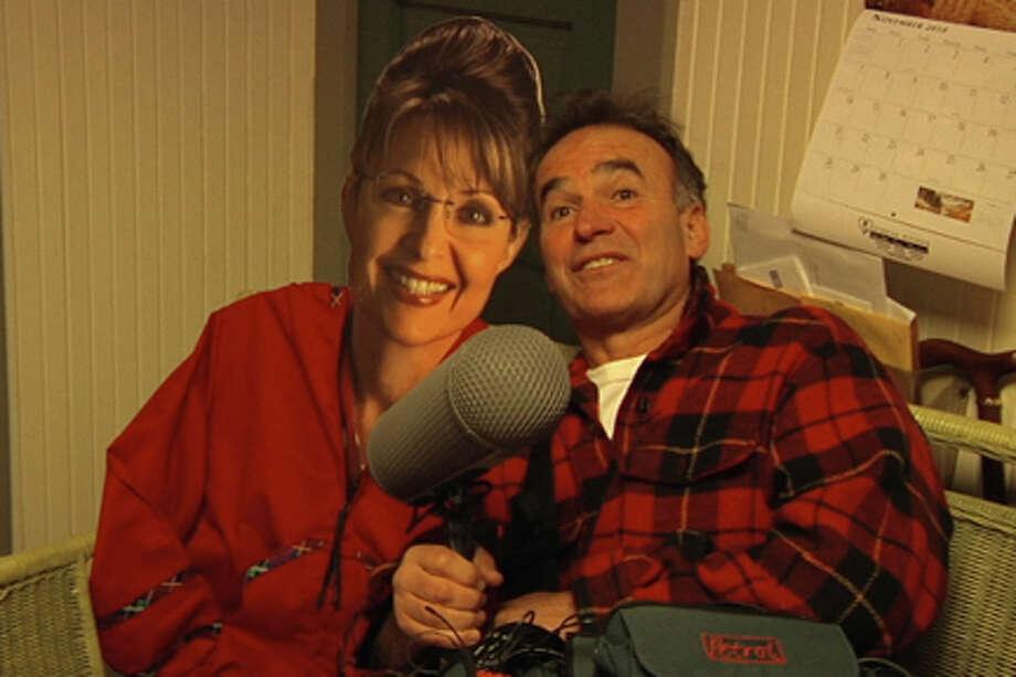 "Nick Broomfield in ""Sarah Palin: You Betcha!."""