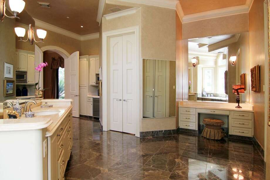 A look at the dressing area of the master bathroom. Photo: RealEstate.MarthaTurner.com