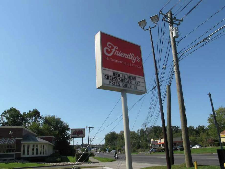 Officials said Danbury's Friendly's restaurant, which is independently owned, would not close despite Wednesday's announcement that Friendly Ice Cream Corp. had filed for Chapter 11 bankruptcy protection. Photo: Libor Jany