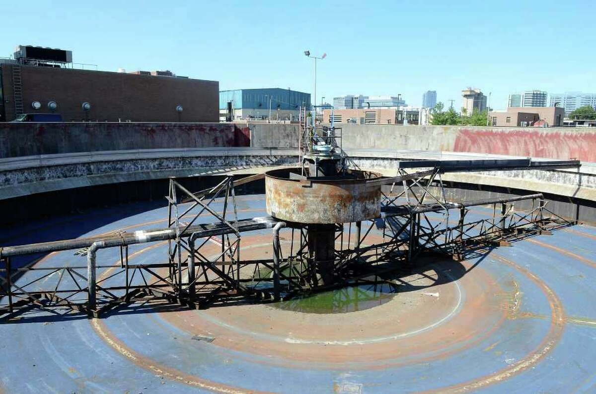 Stamford's Water Pollution Control Authority (WPCA) facility on Harbor View Ave. on Oct. 6, 2011.