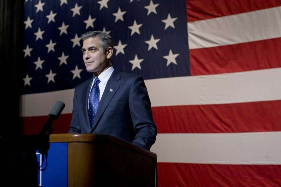 COLUMBIA PICTURES COMMITTED TO THE CAUSE: George Clooney, who plays a liberal governor campaigning for office, co-wrote and directed The Ides of March.