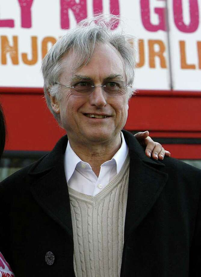 FILE - In this Jan. 6, 2009 file photo, British biologist and author Professor Richard Dawkins is seen in London. A group of prominent British academics said Sunday, June 5, 2011, they are starting a private university in London to rival the country's elite institutions in Oxford and Cambridge. The New College of the Humanities will be led by AC Grayling, a renowned philosophy professor, and the faculty will include Dawkins. (AP Photo/Akira Suemori, file) Photo: Akira Suemori / AP