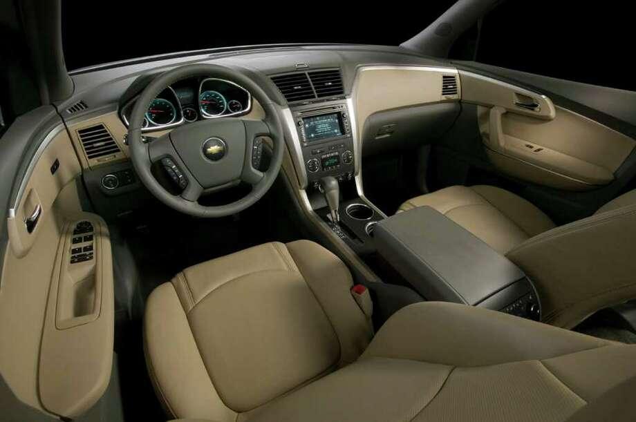 2014 Chevrolet TraverseMSRP: Starting at $30,795Source: Kelley Blue Book Photo: General Motors, COURTESY OF GENERAL MOTORS CO. / Chevrolet