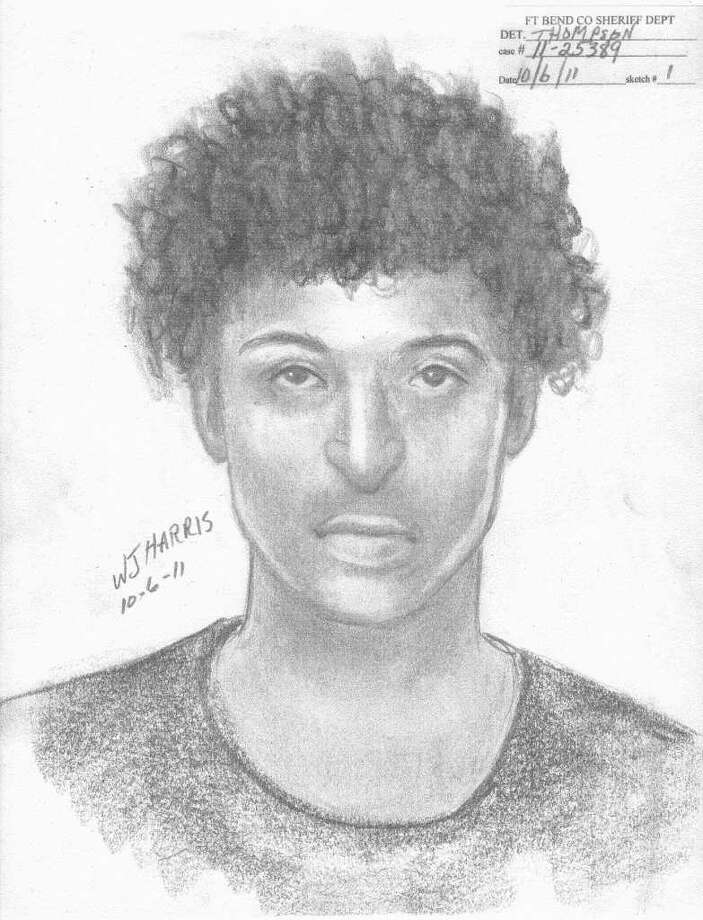 A sketch of the suspect in the sex assault. (Photo by Fort  Bend County Sheriff's Office)