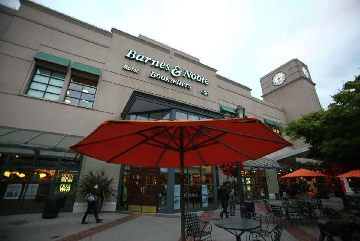 Barnes & Noble is pictured at University Village in 2011, a few months before it closed on Dec. 31, 2011. The book store had been at the upscale Seattle mall for 16 years, until a lease agreement came to an end. The Room & Board furniture store is now in its place.