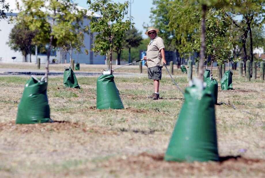 S.A. completes tree-planting program - San Antonio Express ...
