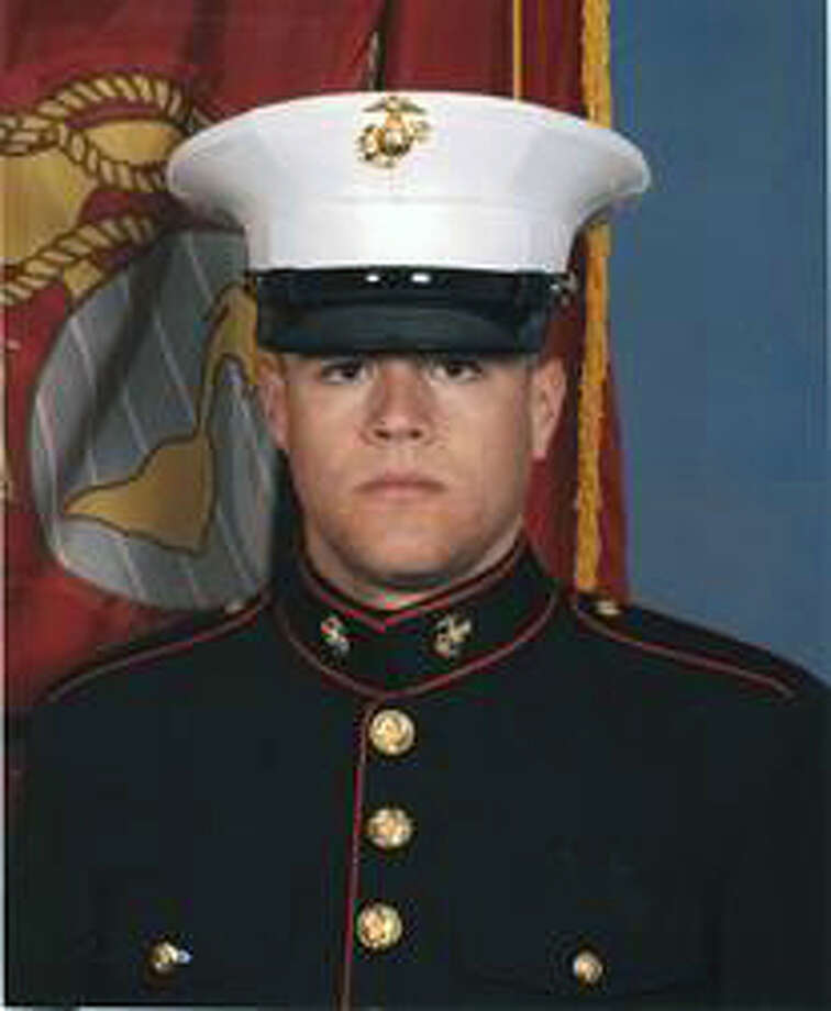 Marine Lance Cpl. Benjamin Whetstone Schmidt, 24, who died on the eve of today's 10th anniversary of the start of the Afghan war, was the son of Becky Whetstone and Dr. David Schmidt, team physician for the Spurs. Photo: Courtesy Photo / COURTESY PHOTO VIA WHETSTONE SCHMIDT FAMILY