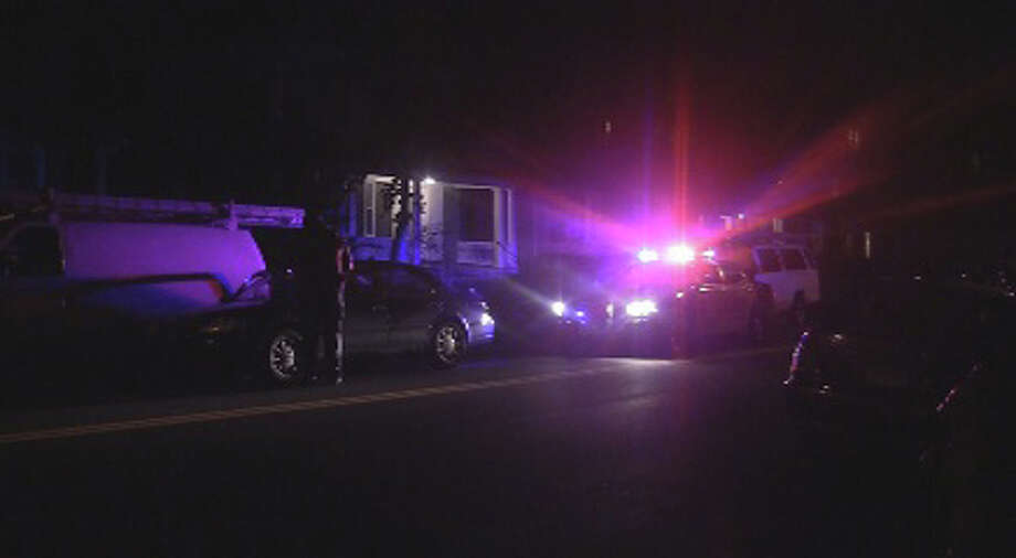Bridgeport police are investigating a shooting on Beechwood Avenue near Norman Street on Thursday, October 7, 2011. Photo: Steve Krauchick