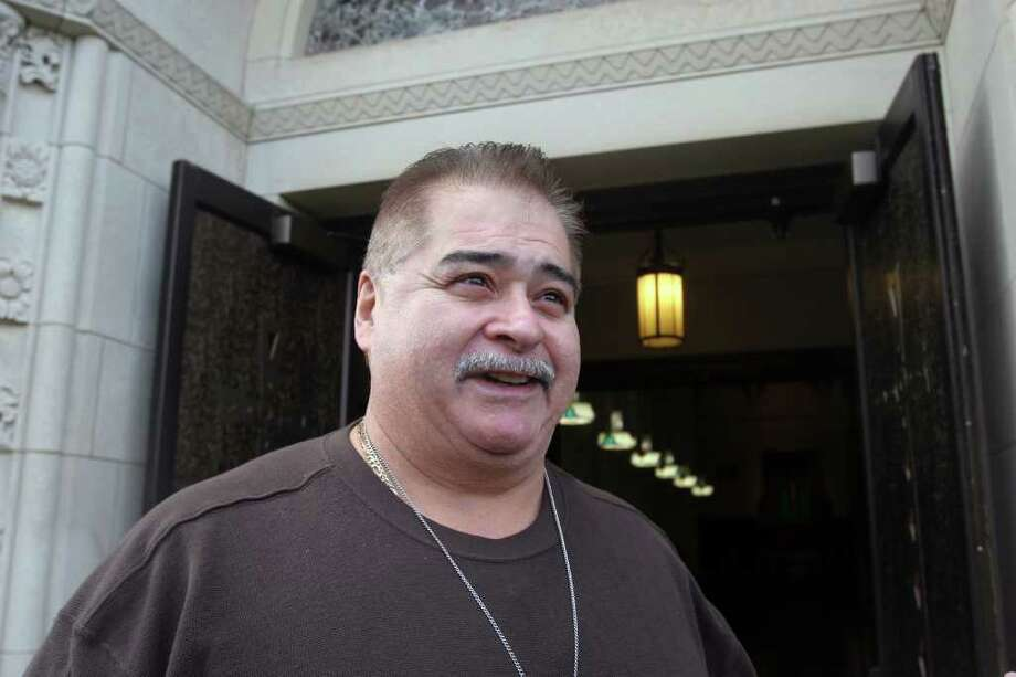 Mike Rodriguez is praying that the Bridgeport Diocese does not close his church, Saint Ambrose, on Sunday, October 2, 2011. Photo: BK Angeletti, B.K. Angeletti / Connecticut Post