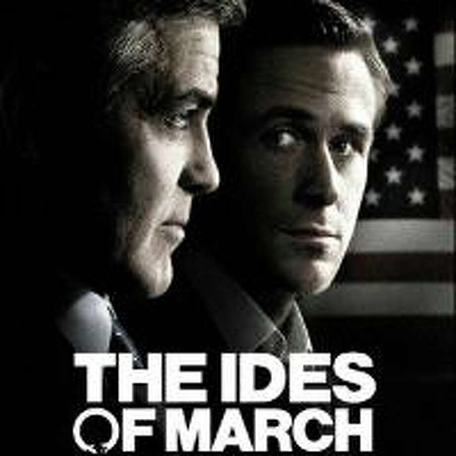 """The Ides of March,"" starring George Clooney and Ryan Gosling, is playing in area theaters. Photo: Contributed Photo / Westport News contributed"