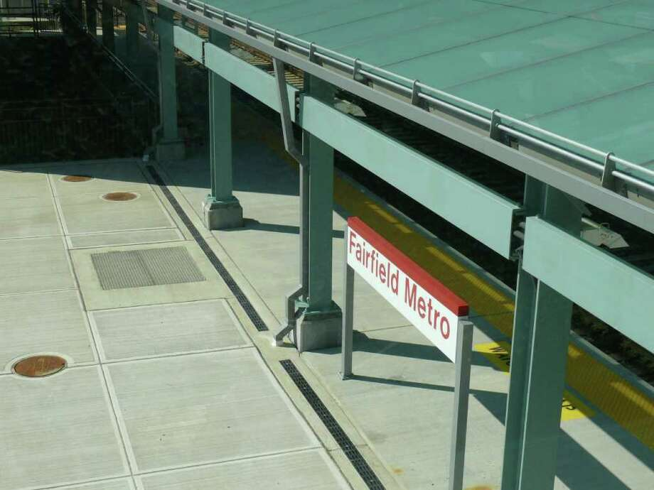 As the Fairfield Metro train station nears completion, the state Department of Transportation has released information about parking permits. Photo: Genevieve Reilly / Fairfield Citizen