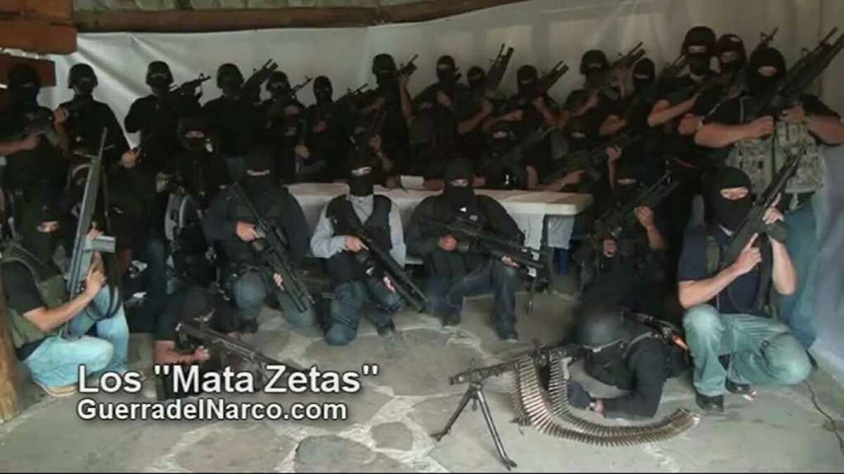 1. Los Zetas are ex-military The foundation of what the United States has called