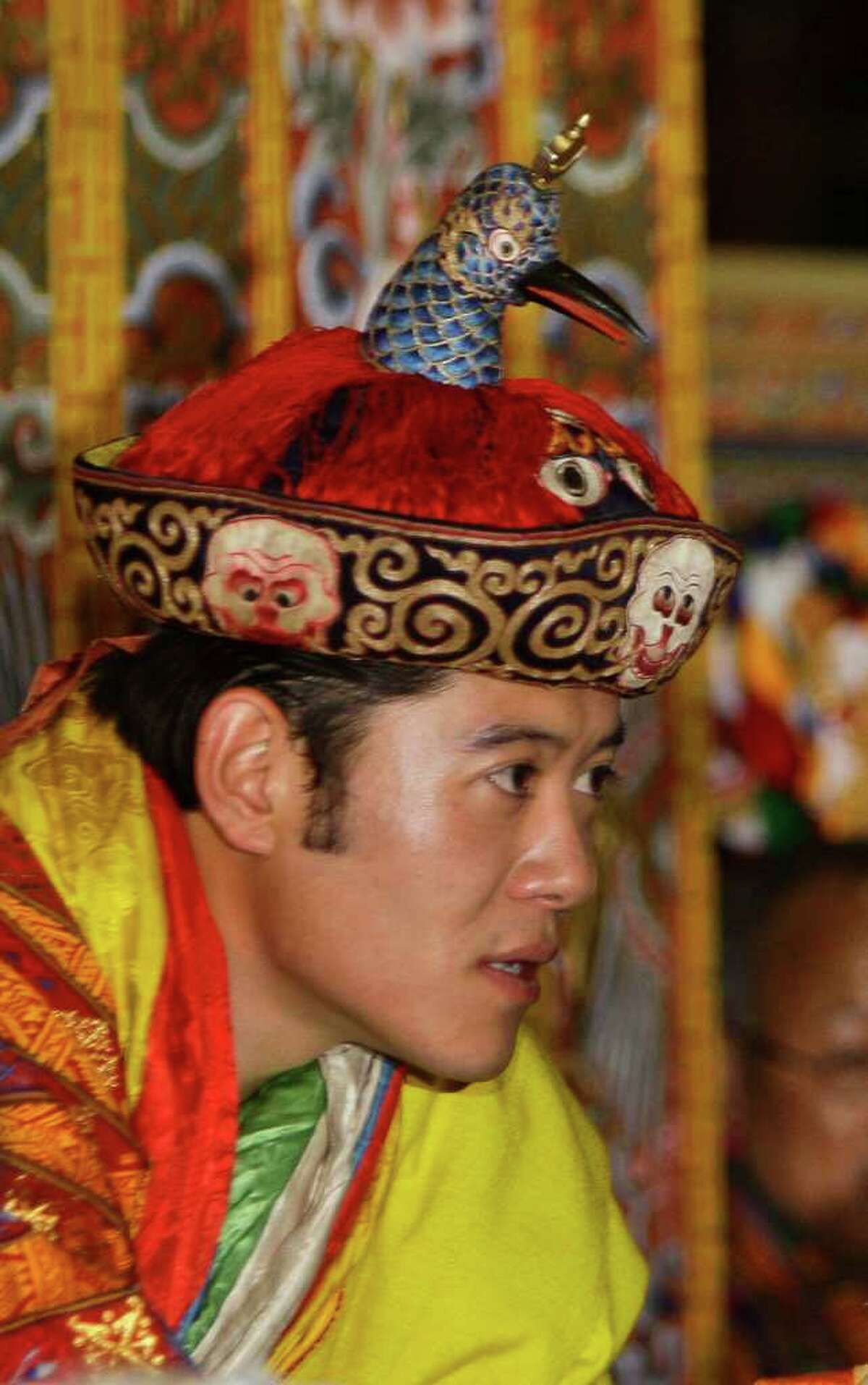 Bhutan's Fifth King Jigme Khesar Namgyel Wangchuk Perfect role: Michael Cera's character Nick Twist in Youth in Revolt.
