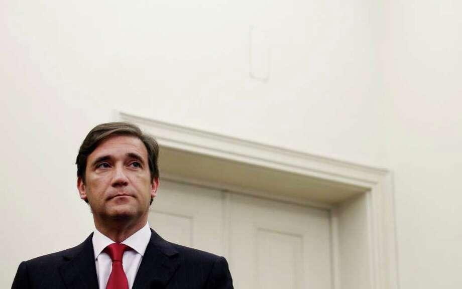 Portugal's Prime Minister Pedro Passos Coelho Perfect role: Dirty Harry. Photo: Francisco Seco / AP