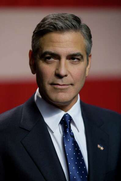 George Clooney with the beardless face we all know and love.