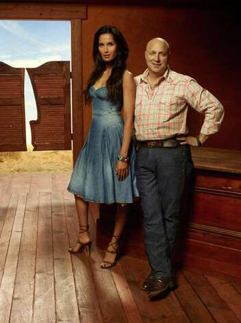 Season nine of Top Chef with Padma Lakshmi and Tom Colicchio had episodes shot in San Antonio. Photo: Scott McDermott, COURTESY PHOTO /  © Bravo