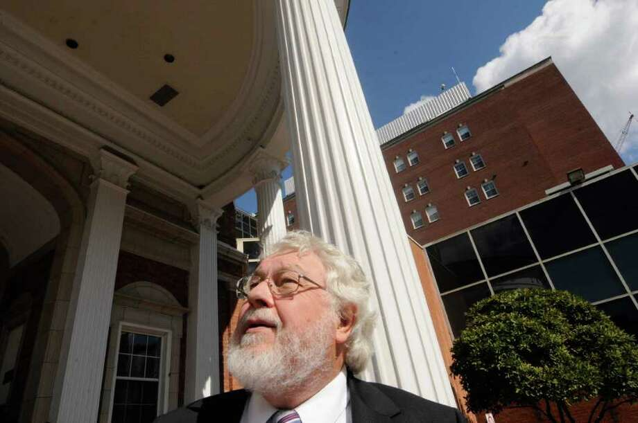 Rev. Harlan Ratmeyer of Pastoral Care and Patient Services at Albany Med in Albany, NY Wednesday Oct. 5, 2011.( Michael P. Farrell/Times Union) Photo: Michael P. Farrell