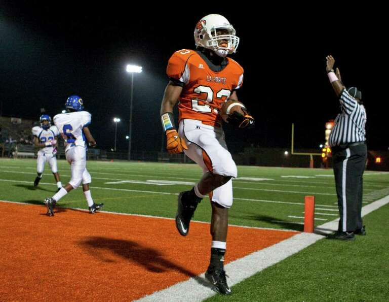 La Porte 35, Channelview 21. La Porte High School's Johnatha