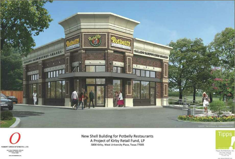 TIPPS ARCHITECTURE SANDWICH ZONE: A Potbelly Sandwich Works is going up at 5800 Kirby to serve the Rice Village/West U area. Photo: Mgaydou
