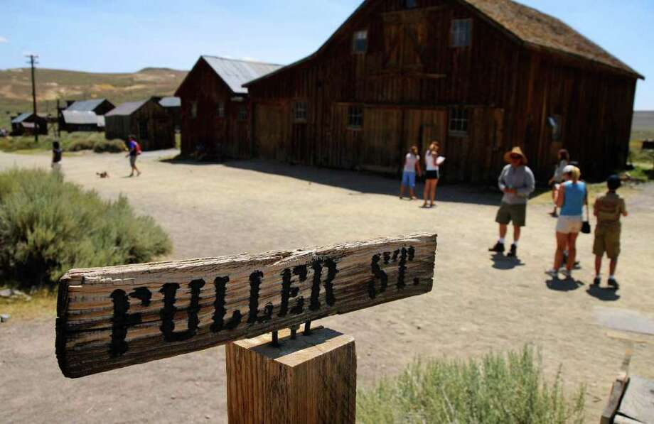 MARC MARTIN : LOS ANGELES TIMES MINERAL SPIRITS: Bodie State Historic Park is an old California gold-mining town that once had a population of nearly 10,000 people. It is now a National Historic Landmark. Photo: Marc Martin / Los Angeles Times