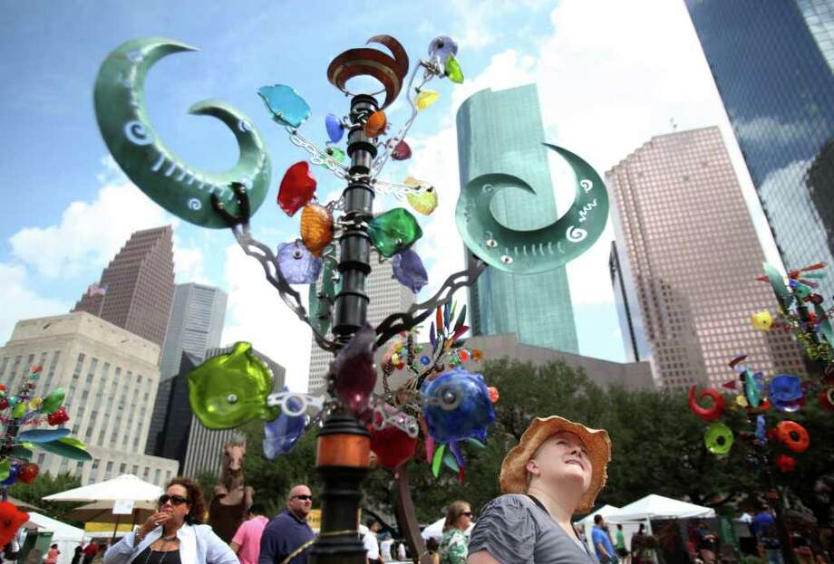 October (date TBA): Bayou City Art Festival downtown at 901 Bagby Street.  Photo: Mayra Beltran / © 2011 Houston Chronicle
