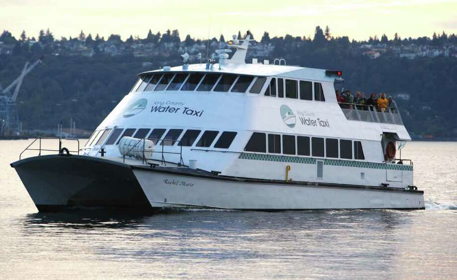 The King County Water Taxi is shown on Saturday in Seattle. Photo: JOSHUA TRUJILLO / SEATTLEPI.COM