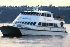 The King County Water Taxi is shown on Saturday, October 8, 2011 in Seattle.