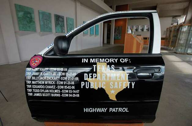 An exhibit at the rarely visited Texas Highway Patrol Museum south of downtown.  Photo: File Photo, San Antonio Express-News / San Antonio Express-News
