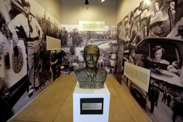 Images of the Texas Highway Patrol Museum on Wednesday, Oct. 5, 2011. A portion of the museum is dedicated to Texas Department of Public Safety Trooper Les Strawn who was a founding member of the museum's Board of Directors. Photo: Kin Man Hui, Kin Man Hui/kmhui@express-news.net / San Antonio Express-News
