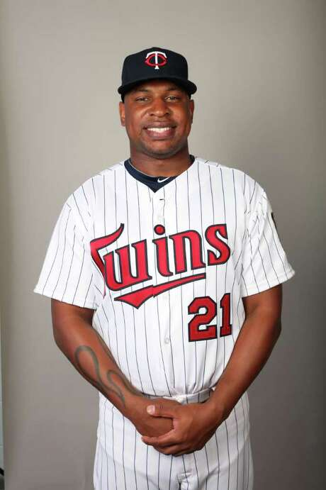 FORT MYERS, FL - FEBRUARY 25:  Delmon Young #21 of the Minnesota Twins poses during Photo Day on Friday, February 25, 2011 at Hammond Stadium in Fort Myers, Florida.  (Photo by Robert Rogers/MLB Photos via Getty Images) *** Local Caption *** Photo: Robert Rogers / 2011 MLB Photos