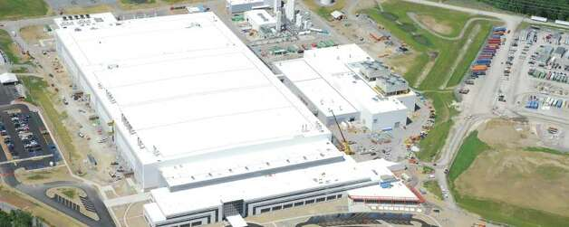 Aerial photo of GlobalFoundries Fab 8 site in Malta, NY.  (Photo courtey of GlobalFoundries)