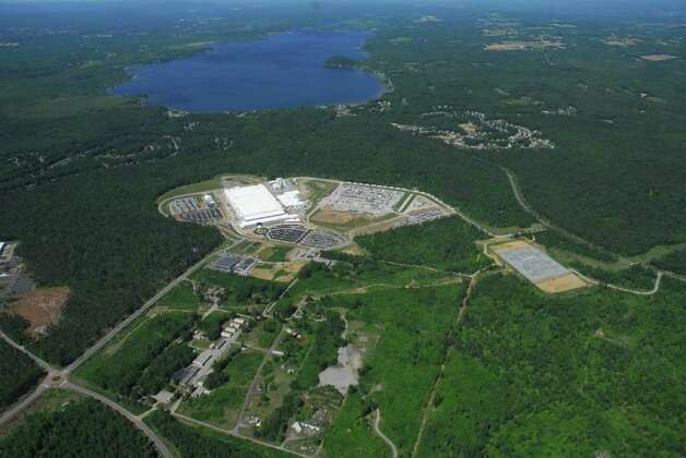 Aerial photo of GlobalFoundries Fab 8 site in Malta, NY.  (Photo courtey of GlobalFoundries) Photo: Michael Townsend / Aerial Dimensions