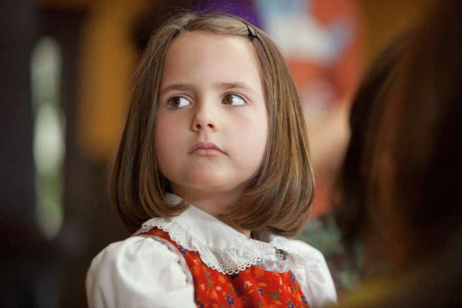 Ava Acres plays a confused little girl in 'Charlotte', the first film in 'Five,' which airs Monday. LIFETIME Photo: Lifetime