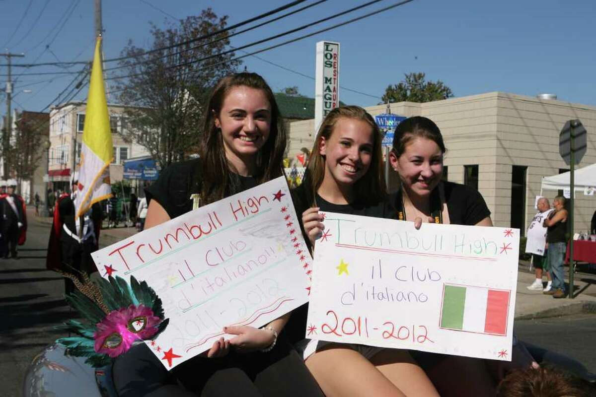The Council of Italian-American Societies of Greater Bridgeport holds its 103rd Columbus Day Parade in Bridgeport on Sunday, October 9, 2011.