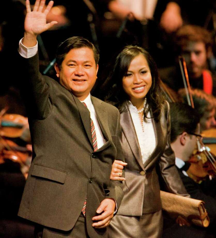 Al Hoang has faced a string of controversies since his election in 2009 as Houston's first Vietnamese council member. Photo: Karen Warren / Houston Chronicle