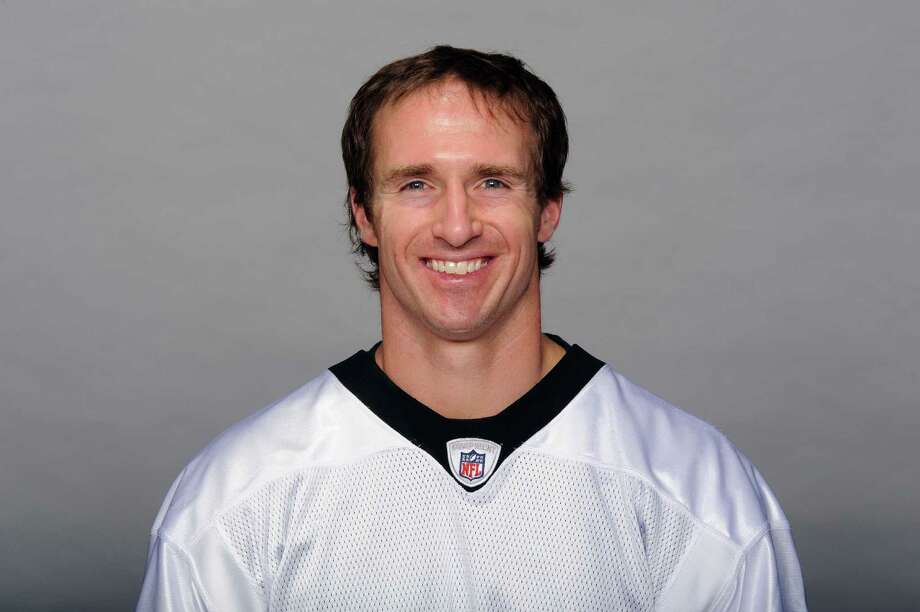This is a 2011 photo of Drew Brees of the New Orleans Saints NFL football team. This image reflects the New Orleans Saints active roster as of Wednesday, Aug. 17, 2011 when this image was taken. (AP Photo) Photo: Anonymous, FRE / AP2011