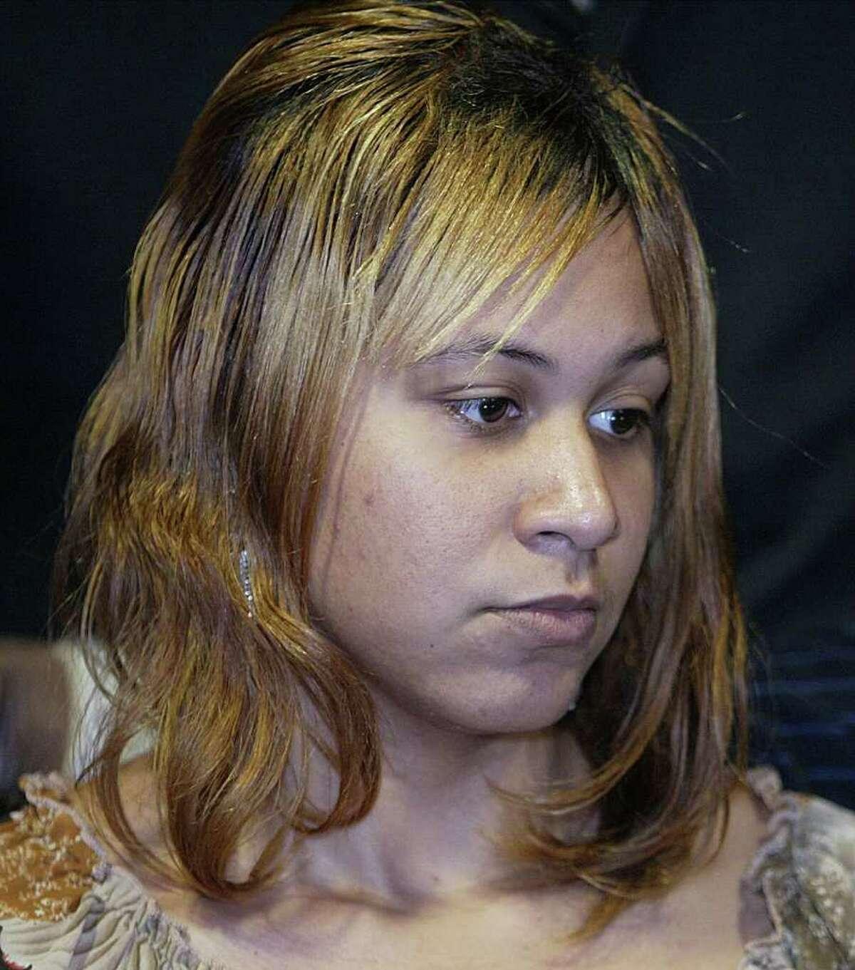 Kendrick's mother Keyanna, shown in 2006.