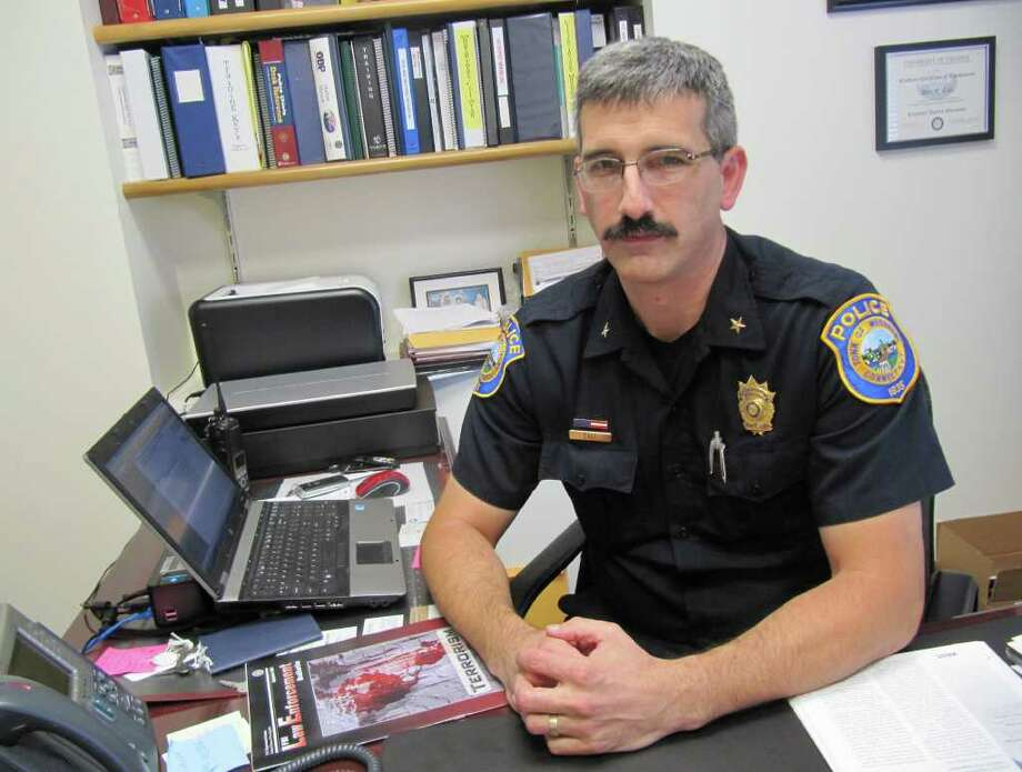 Pictured is Dale Call, deputy chief of the Westport Police Department. Call will be promoted the department's top position at Westport Town Hall on Oct. 7. Photo: Kirk Lang