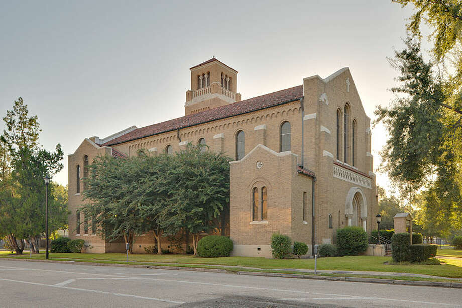 First Evangelical Church in Houston is pictured.