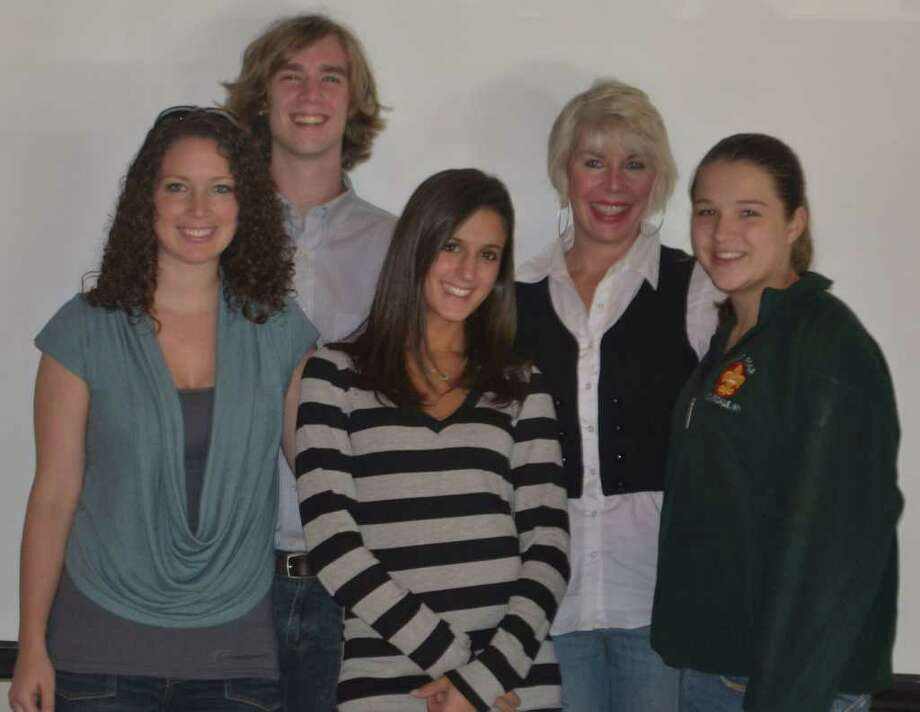 Program Director Erin McDermott; Studio Manager Tommy Higbie; Teen Coordinator Katelyn Sci; Executive Director Susan Serven and SGB Member Raven Killinger. Photo: Contributed Photo