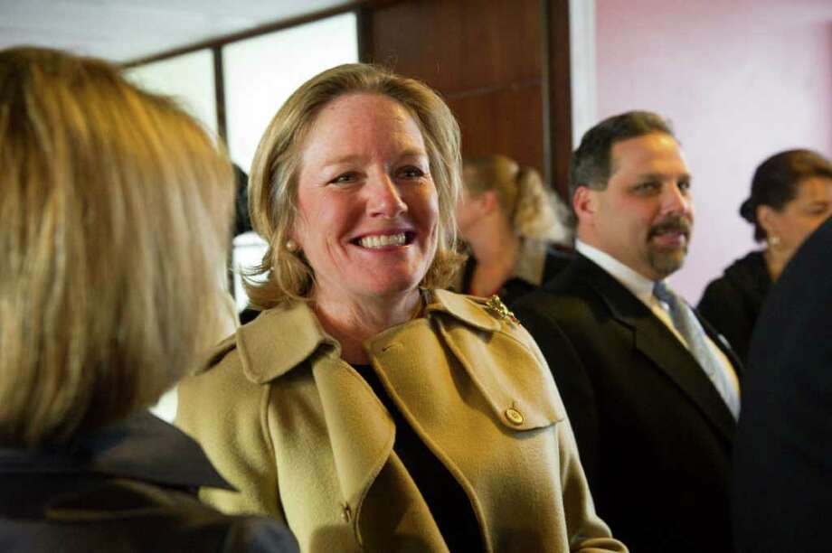 Cathy Malloy was named chief executive officer of The Greater Hartford Arts Council Monday. Photo: Keelin Daly, ST / Stamford Advocate