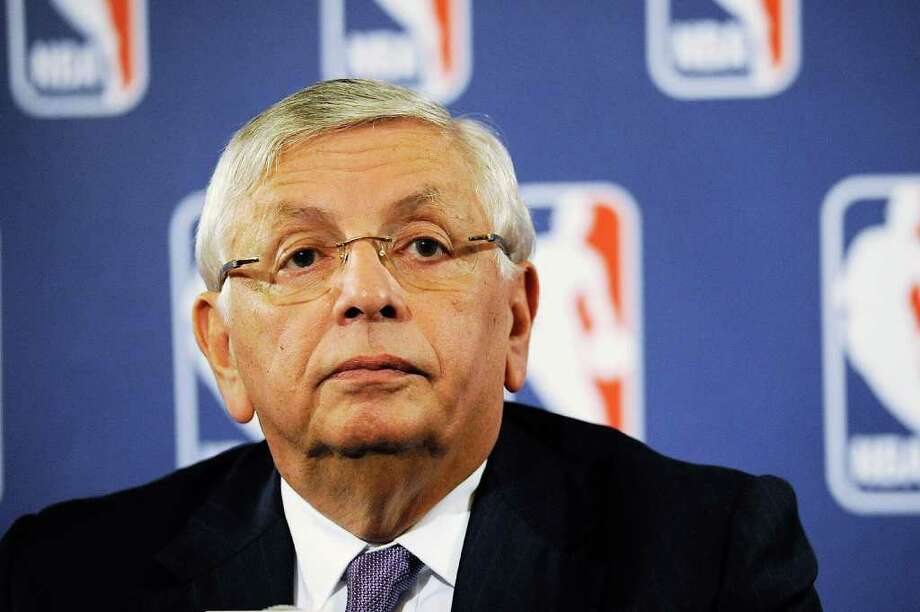 Commissioner David Stern said that there is not a chance that the schedule would be reconfigured to allow for an 82-game season. Photo: Patrick McDermott, Getty / 2011 Getty Images