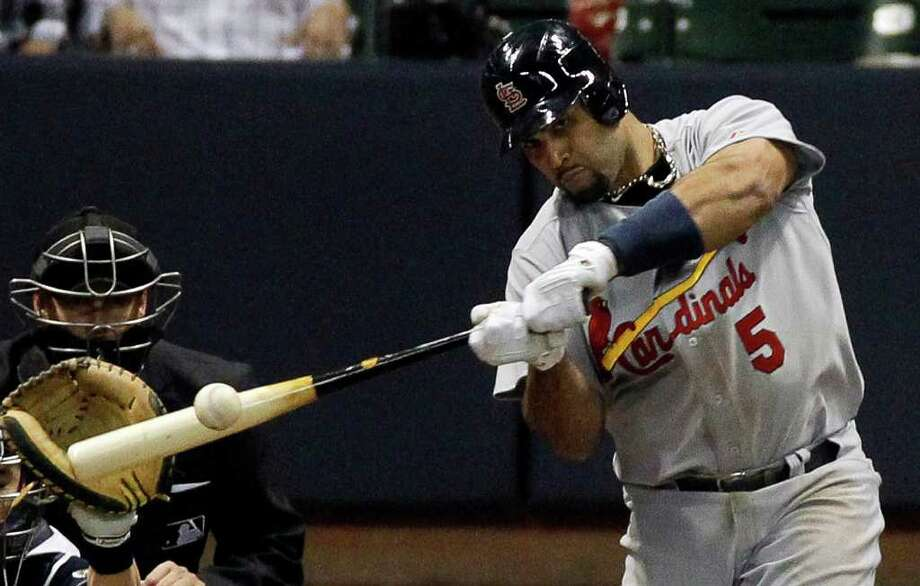 Game 2: Cardinals 12, Brewers 3 (Series