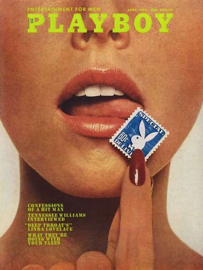 The Playboy magazine cover from April 1973.