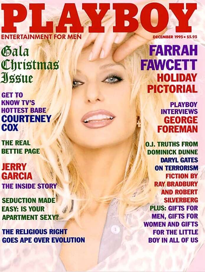The Playboy magazine cover from December 1995.