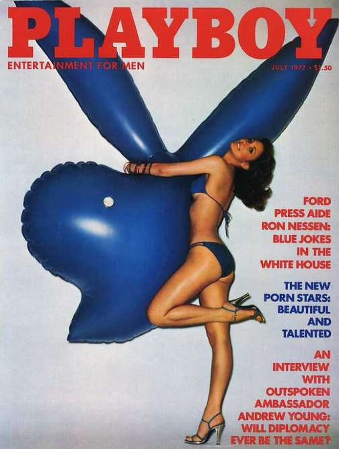 The Playboy magazine cover from July 1977.