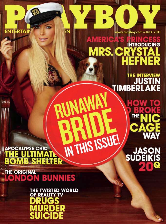 The Playboy magazine cover from July 2011.