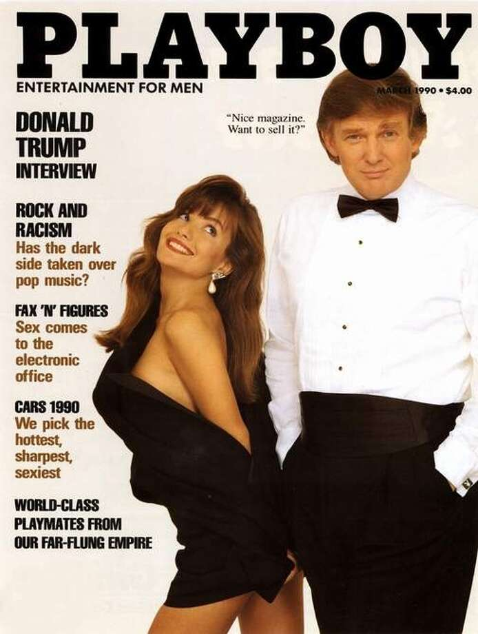The Playboy magazine cover from March 1990.